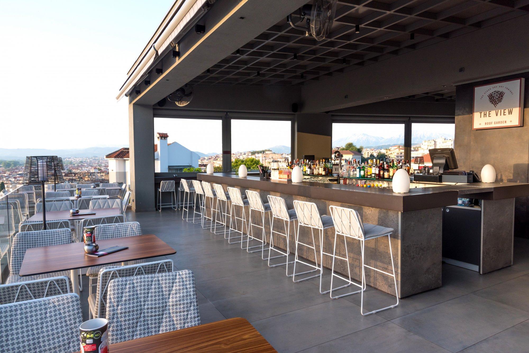 The View Roof Garden Saz City Life Hotel Iwannina